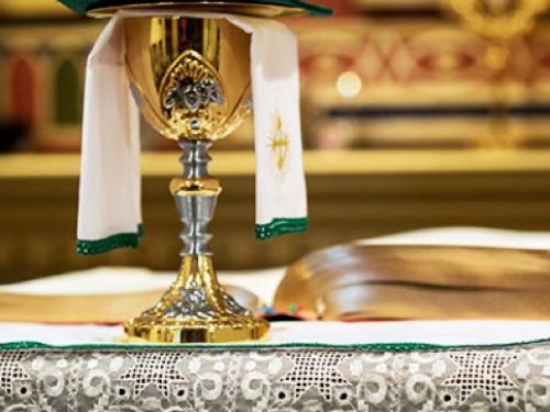 Horário das Eucaristias